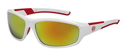 Sonnenbrille Logo weiß