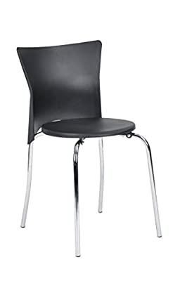 Royal Lifetree Chrome Chair Dining Room Chair with Foam Padded