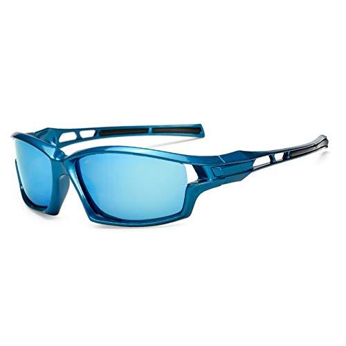 WZYMNTYJ Neueste polarisierte HD-Objektiv-Sonnenbrille für männliche kühle Männer, die Schutzbrillen Eyewear-Spiegel Fahren