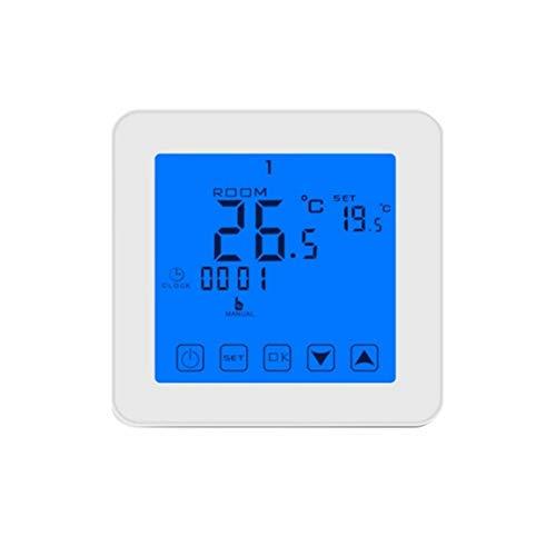 fghfhfgjdfj Große Touchscreen Programmierbare Elektrische Heizung Thermostat