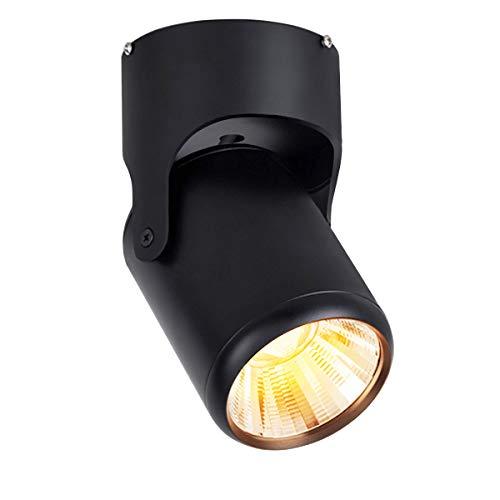 Budbuddy 12W focos led interior lámpara de focos LED barra de focos Orientable luz de techo focos Industrial...