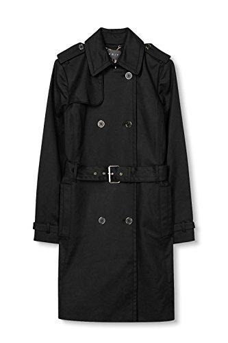 ESPRIT Collection Damen Mantel Schwarz (Black 001)
