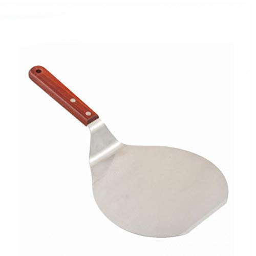 Oulensy Ouken 8 Zoll-Edelstahl-Pizza Peels Kuchen-Backen-Werkzeuge Schaufel Übertragung Kuchen Behältertransportier- Teller Kuchen Lifter Plätzchen Spatel