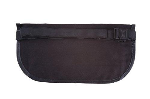 Gürteltasche, Bauchtasche für Damen und Herren aus feinstem Leder. (braun) schwarz
