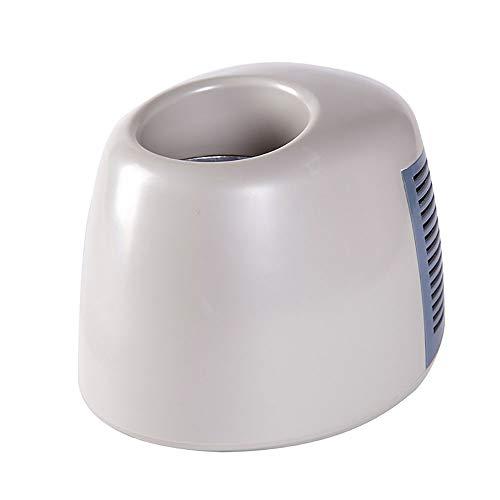 Lyy - 8866 USB Mini Kühlschrank USB heiße und kalte Tasse 1 Tasse Wasser Tasche Auto 12V Auto Kühlschrank ist geeignet für das Auto nach Hause mit doppeltem Verwendungszweck (Farbe : Weiß) (Bam Taschen)