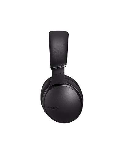 Panasonic RP-HD605NE-K Bluetooth Noise Cancelling Kopfhörer (bis 20 h Akkulaufzeit, Quick Charge, Sprachsteuerung, schwarz) - 5