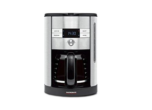 Gastroback 42704 Kaffeeautomat für 12 Tassen, silber