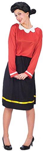 Rubie's Olive - Kostüm TM für Damen - S (Popeye Und Olive Kostüm)