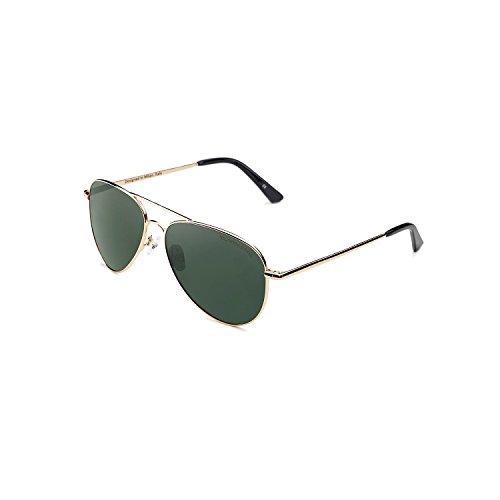 Clandestine gold dark green - occhiali da sole polarizzati uomo & donna