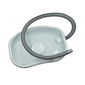Shampoo Basins Tablett Für Behinderte, Ältere Menschen, Schwangerschaft, Bettnässer Badewanne Hals Unterstützung
