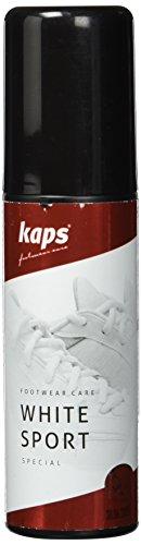 Kaps White Sport Trattamenti e lucidi per scarpe, Bianco (White), 75.00 ml