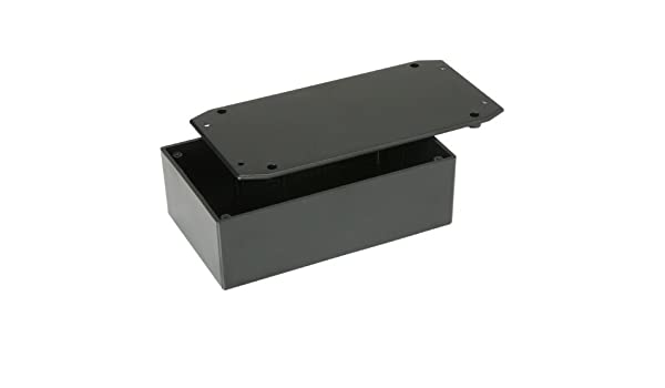 """Plastic Utility Project Box Case w//Mounting Tabs 7.31/"""" x 3.75/"""" x 2.08/"""""""