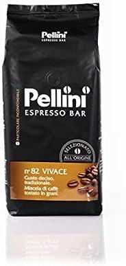 Pellini Espresso Bar Miscela di Caffè in Grani, 1000g