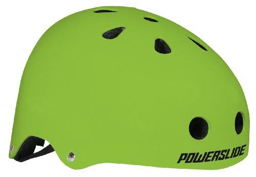 Powerslide Allround Stunt - Casco unisex verde verde Talla:S/M (54-58cm)