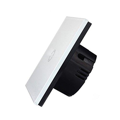bestomz Interruptor táctil interruptor conmutado (cristal de Tuflite con mando a distancia