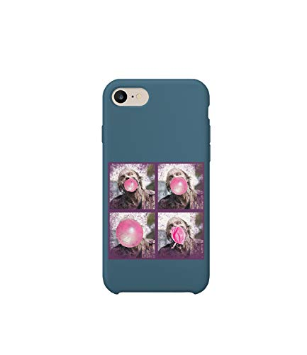 GlamourLab Walking Dead Zombie Bubblegum Pop Art Version_R5479 Protective Case Cover Hard Plastic Compatible with for iPhone 6 Funny Gift Christmas Birthday Novelty