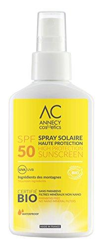 Annecy Cosmetics Sonnencreme Bio, LSF 50
