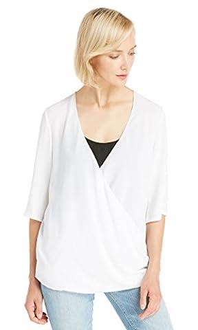 LILYSILK Women's Silk Tunic Half Sleebe Deep V Neck Ladies