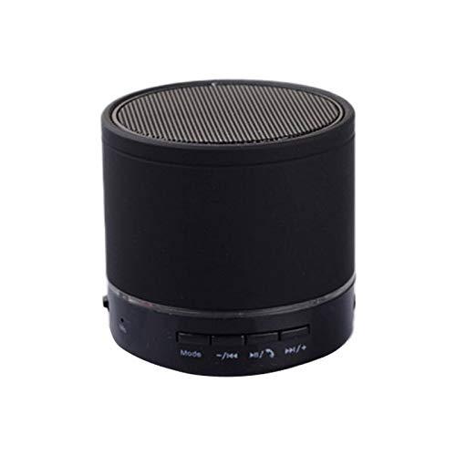 BSDK Tragbarer Bluetooth-Lautsprecher, Mini-Lautsprecher, drahtloser Lautsprecher Bluetooth-Audioempfänger, HD-Anruf, TF-Kartensteckplatz,Black