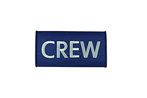 Crew Luggage Handle Wrap | Multicolours | High Quality (Blue)