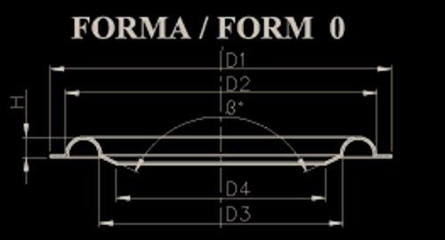 Oeb bs 318 coppia sospensioni in foam 298 mm. per riconatura woofer da 28 32 cm. nuove