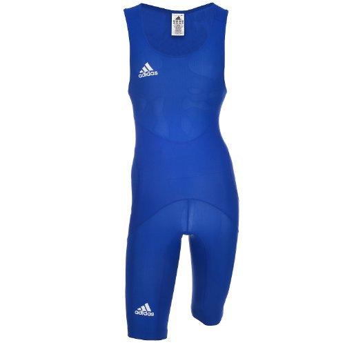 Adidas WR CL M Wrestling Suit Singlet Rigertrikot Ringen Ringeranzug Herren blau (Adidas Suit Classic)