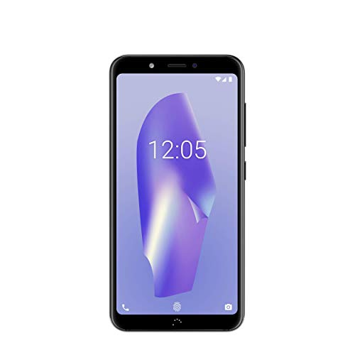 "BQ Aquaris C - Smartphone de 5.45"" (WiFi, 2 GB de RAM, Memoria Interna de 16 GB, Bluetooth 4.2, Dual Camera de 13 MP + 5 MP, Android 8.1.0 Oreo) Navy Black"