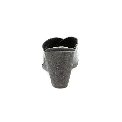 Giani Bernini Carolima Synthétique Sandales Compensés Black