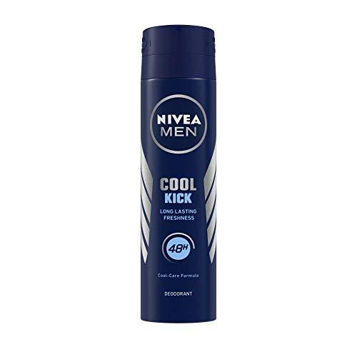 Nivea Cool Kick 48 Hour Deodorant for Men, 150ml