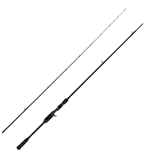 Savage Gear Black Savage Trigger 220cm 30-70g - Hechtrute für Gummfische, Swimbaits & Wobbler, Bootsrute, Spinnrute für Hecht