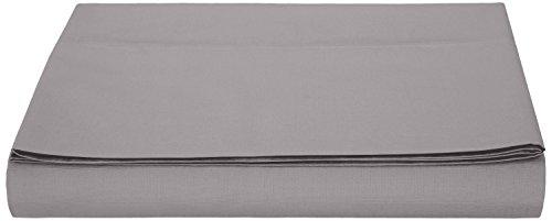 AmazonBasics - Hoja de Microfibra, 240 x 320cm - Gris Oscuro