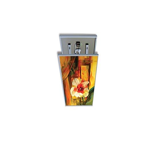 coldfig hting höchststufe 595 * 1195 mm 720 W Argent Aluminium Surface Imprimer fernes – Panel Chauffage électrique radiateur mural infrarouge