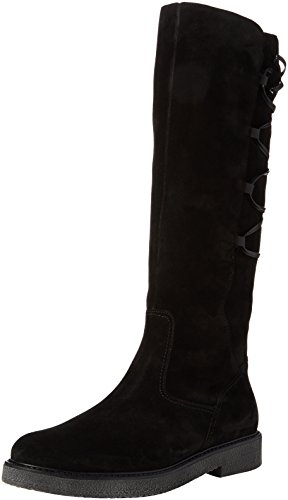 Gabor Shoes Damen Fashion Stiefel, Schwarz (87 Schwarz (Anthrazit)), 38 EU (Fashion Damen Stiefel Schwarz)