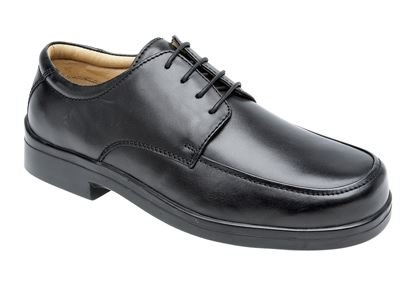 ROAMERS XXX Extra Wide Tie Shoes Leather Quarter Lining & Sock Mens UK 6