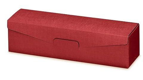 50er Paket Geschenkverpackung 1er Seta (Bordeaux) für Weinflaschen