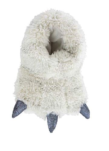 Carcassi Girls Fun Novelty Glamourous Claw Bootie Slipper Winter Cosy