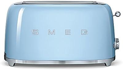 Smeg TSF02PBEU - Tostadora, 1500W, azul
