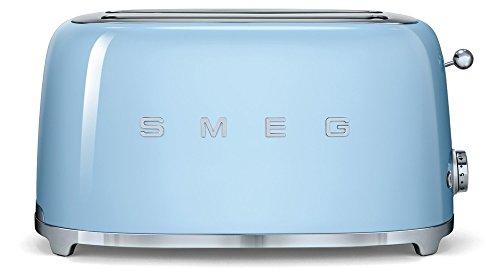 Smeg - tsf02pbeu - Grille-pains 2 fentes 1500w bleu azur