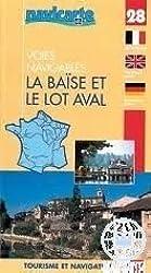 Carte marine : La Baïse et le Lot aval