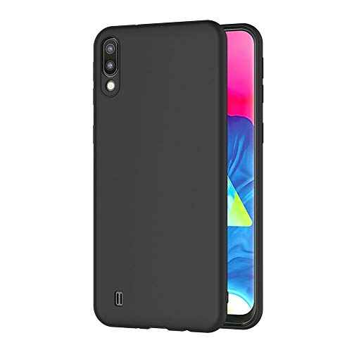 AICEK Compatible Samsung Galaxy M10 / Samsung Galaxy A10 Hülle, Schwarz Silikon Schutzhülle für Samsung M10 Case TPU Bumper Galaxy A10 Handyhülle (6,22 Zoll)