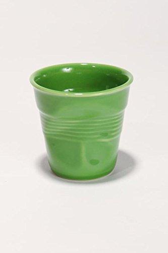 Gobelet Froissé Espresso 8 cl Revol (Vert lime)