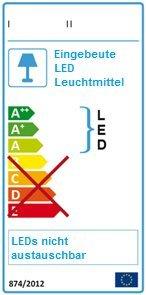 Wandlampe 90 cm Warmweiß MOD-B Bilderleuchte Beste Qualität Designer Lampe Bildleuchte LED (Schwarz) - 4