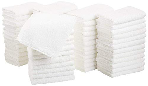Microcotton by orpheebs hotel spa, asciugamani e teli da bagno lusso, vari dimensioni, 660 g/m², 100% cotone in cotone pettinato e collegamento zero twist,varie dimensioni.(set di 4 lavette 33x33 cm)