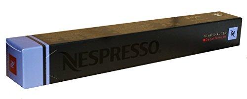 Nespresso Capsules - Vivalto Lungo Decaffeinato - 10 Capsules, 1 Sleeve - New Decaf variety