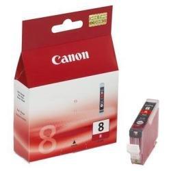 Cli-8 Tinte Rot (Canon CLI-8 R original Tintenpatrone  Rocho für Pixma Inkjet Drucker PRO9500-PRO9500MarkII)