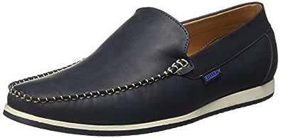 KILLER Men's Blue Loafers-6 UK/India (40 EU) (KLMF-1141)