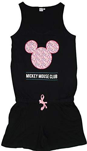 Disney - Camisón - para Mujer Negro Negro XL