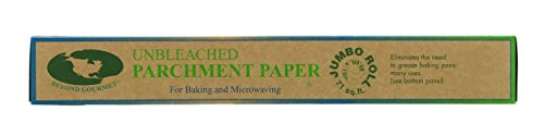 Beyond Gourmet Unbleached Parchment Paper 71-Sq Ft Roll Cookie Nonstick New #042 -