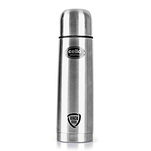 Cello Lifestyle Stainless Steel Flask, 1000ml