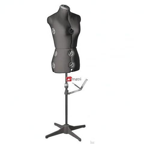 Buste Mannequin - Buste de couture Mannequin femme réglable (Taille